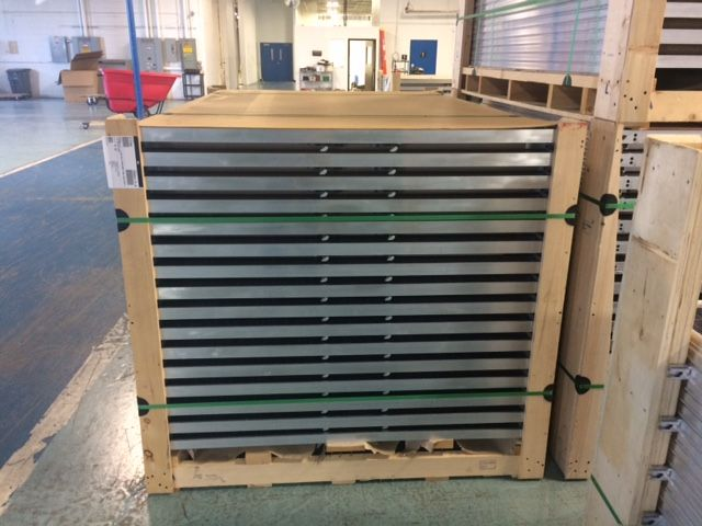 Pallet of 31 500W Apex solar modules